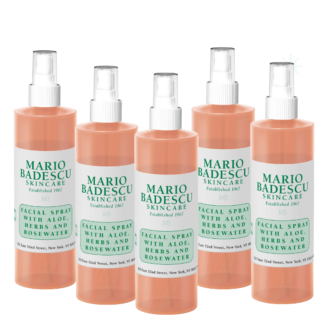 Hudpleiepakke: Mario Badescu Facial Spray with Aloe, Herbs and Rosewater - 236 ml x 5