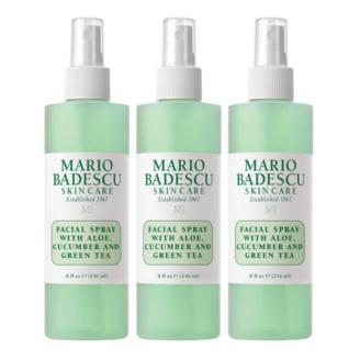 Hudpleiepakke: Mario Badescu Facial Spray with Aloe, Cucumber and Green Tea - 236 ml x 3