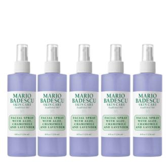Hudpleiepakke: Mario Badescu Facial Spray with Aloe, Chamomile and Lavender - 236 ml x 5