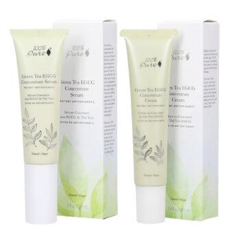 Hudpleiepakke fra 100% Pure : Brightening, for glød, beskyttelse og jevnere hudtone