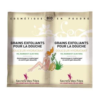 Secrets des Fées Exfoliating Grains for Showering - Moisturizing (2 stk 2,5 gr)