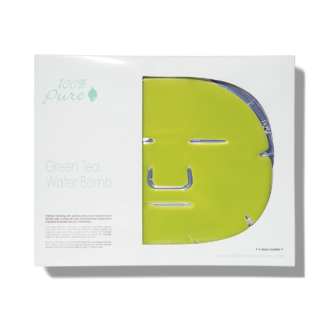 100% Pure Green Tea Water Bomb Mask - 5 pack
