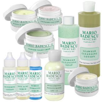 Mario Badescu Hudpleiepakke: Tørr hud med kviser- totalpakke