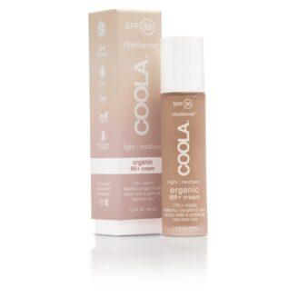 COOLA Mineral Face SPF 30 Rōsilliance® Tinted Organic BB+ Cream - Light/Medium - 44 ml