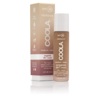 COOLA Mineral Face SPF 30 Rōsilliance® Tinted Organic BB+ Cream - Medium Dark- 44 ml