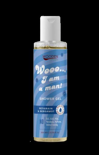 "Wooden Spoon Shower Gel ""Wooo... I am a MAN!"" - 200 ml"