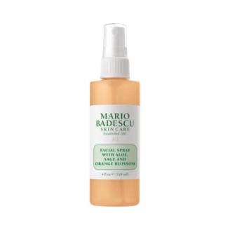 Mario Badescu Facial Spray with Aloe, Sage and Orange Blossom - 118ml