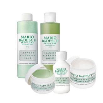 Mario Badescu Hudpleiepakke for kombinert - normal til tørr hud