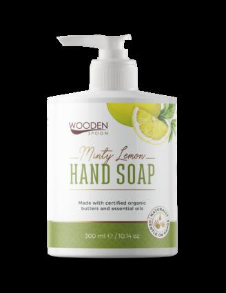 Wooden Spoon 100% Natural Liquid Hand Soap - Minty Lemon - 300 ml