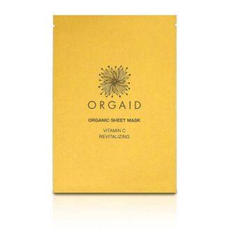 ORGAID Vitamin C & Revitalizing Organic Sheet Mask - 24 ml