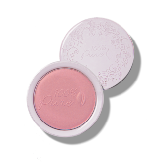 100% Pure Fruit Pigmented Blush: Peppermint Candy - 9g