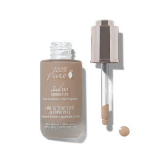 100% Pure 2nd Skin Foundation: Shade #6- 35 ml