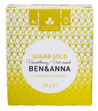 Ben & Anna Sugar Gold - naturlig hårfjerning - 60 gr