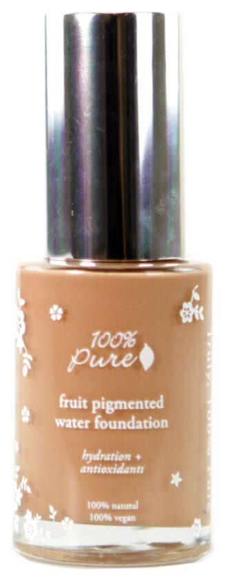 100% Pure Sheer Water Foundation: Golden Peach - 30ml