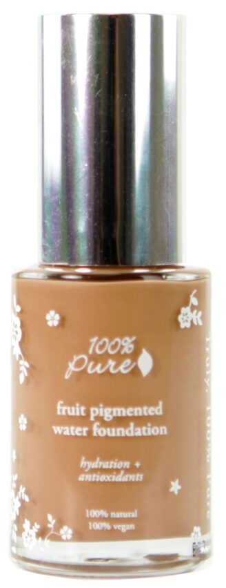 100% Pure Sheer Water Foundation: Toffee - 30ml