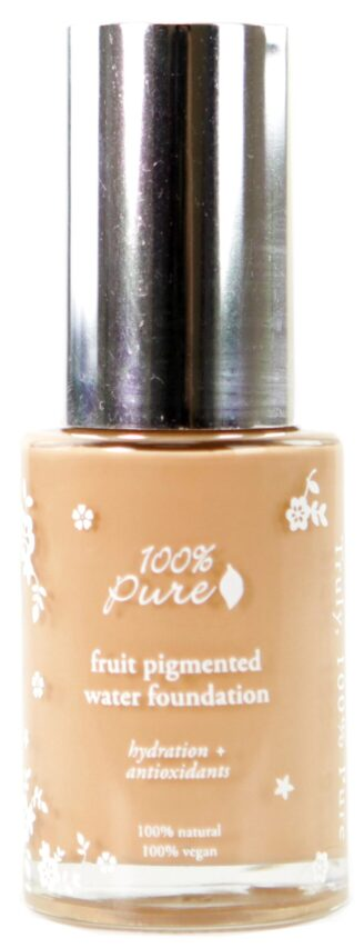 100% Pure Sheer Water Foundation: White Peach - 30ml