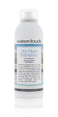 Waterclouds Dry Clean Hairspray. Effektiv tørrshampo - 200ml