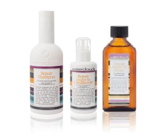 Waterclouds Repair Shampoo - Leave-in Conditioner & Argan Oil Serum