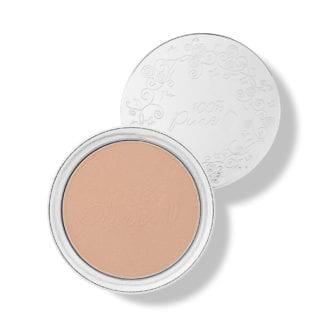 100% Pure foundation powder - peach bisque