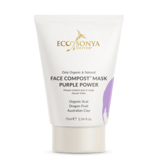 Eco by sonya face Compost mask Purple