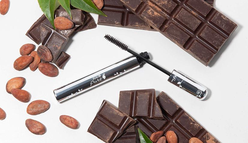 Sjokolade og kakao gir farger til mascara