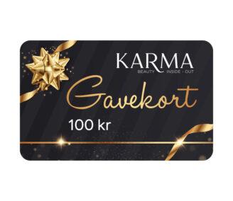 Karma gavekort 100 kr