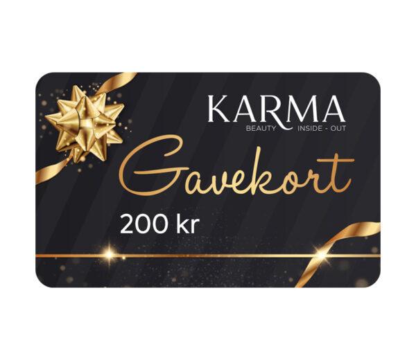 Karma gavekort 200 kr