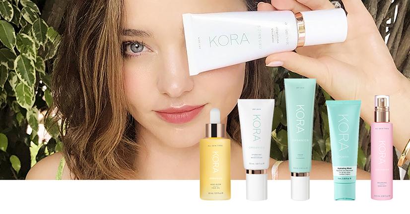 Kora Organics - produktserien