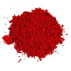 Rød syntetisk farge