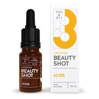 You & Oil Beauty Shot acids fruktsyrer for glød i ansiktet