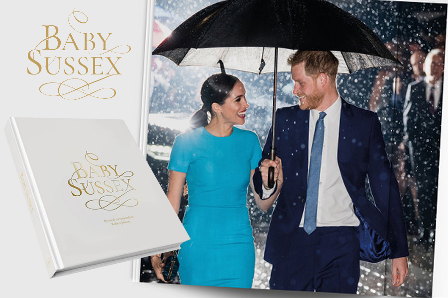 Baby Sussex- boken om Meghan og Harry valgte wooden spoon