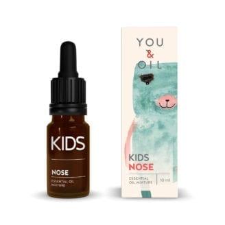 You & Oil KI Kids Aromatherapy Essential Oil Mixture Nose - klar nese