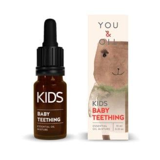 You & Oil KI Kids Aromatherapy Essential Oil Mixture Baby Teething
