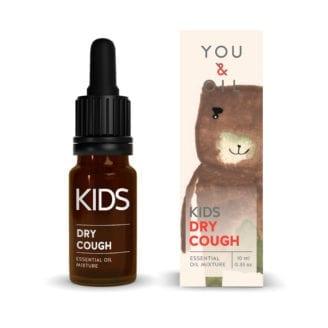 You & Oil KI Kids Aromatherapy Essential Oil Mixture Dry Cough