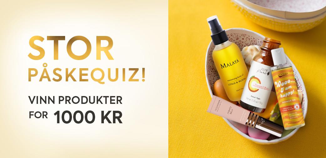 Påske-quiz for Karma - vinn produkter for 1000 kr