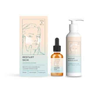 You & Oil Restart Skin & Hair Skin Detox rougtine Skin detox for huden