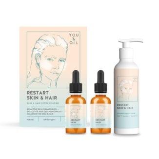 You & Oil Restart Skin & Hair Restart skin cleansing detox for hud og hår