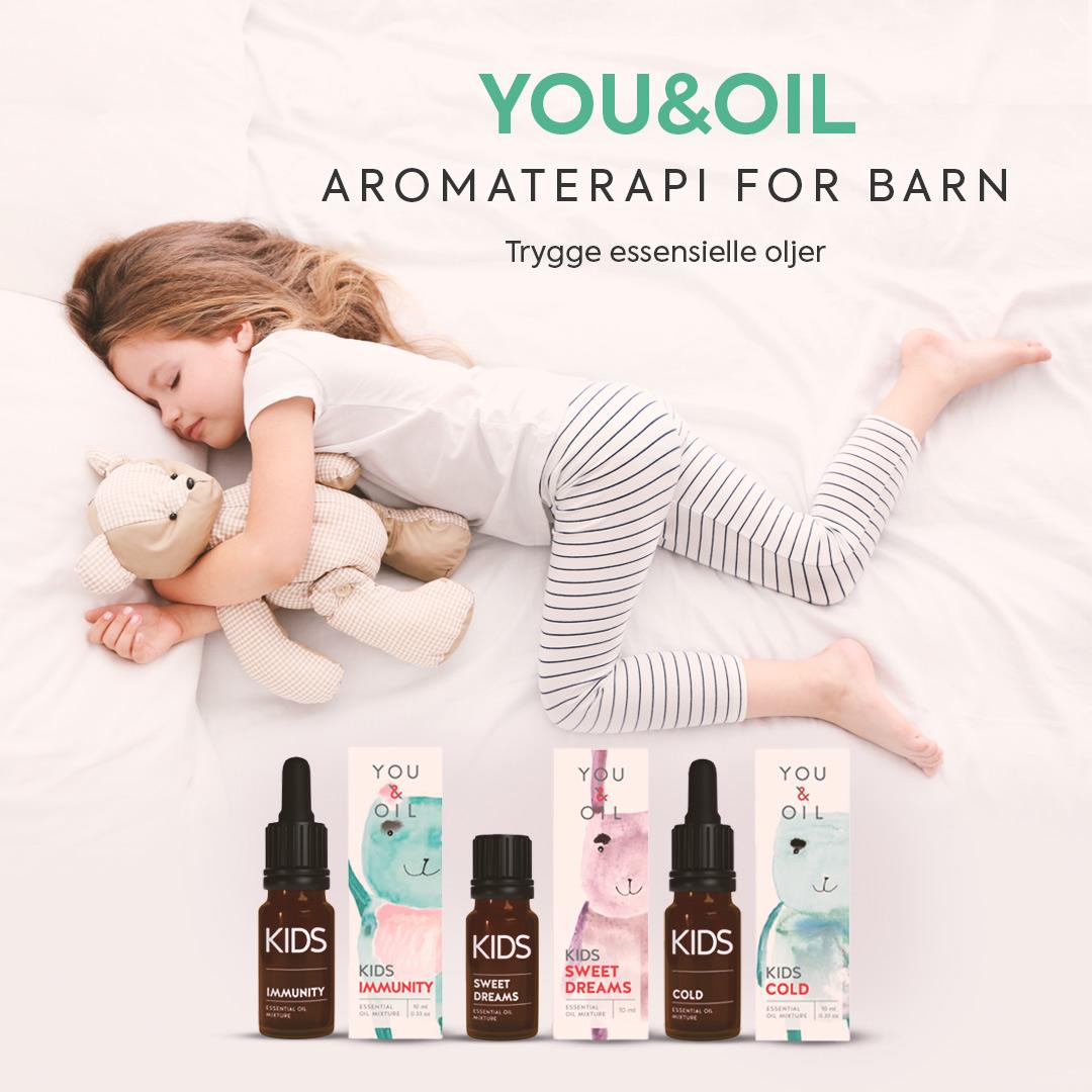 Aromaterapi for babyer og barn
