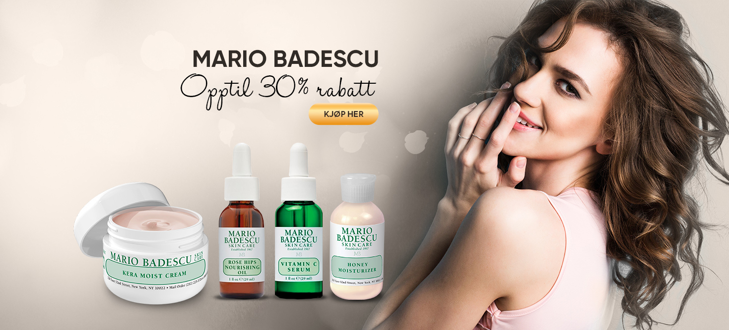 Mario Badescu opptil 30% rabatt
