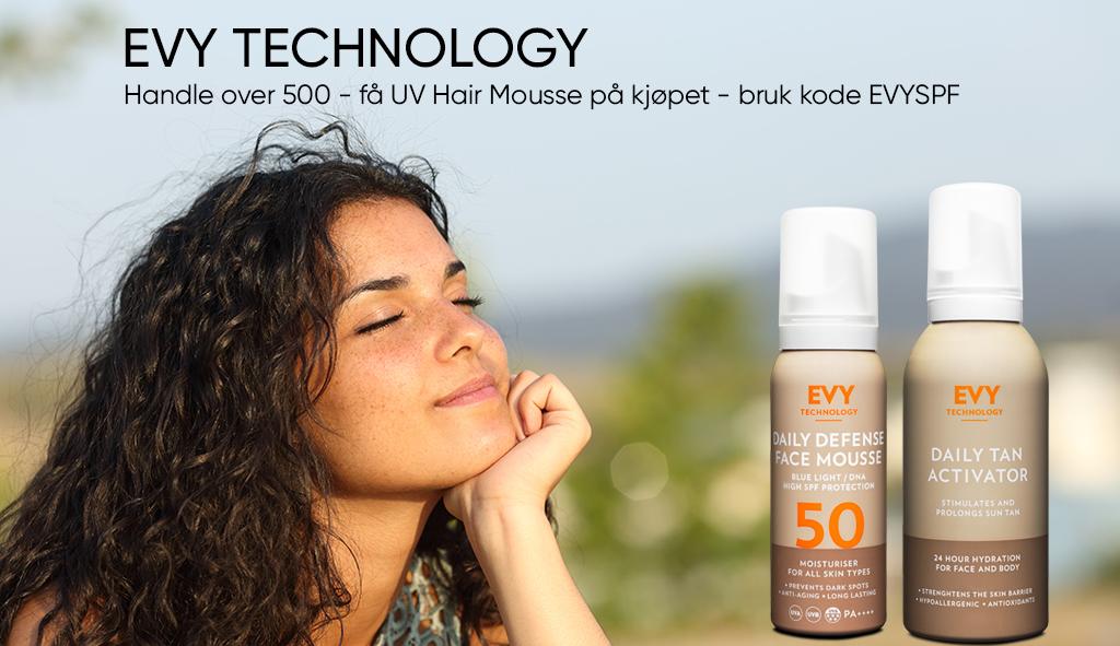 evy Technology kampanje få gratis hårmousse