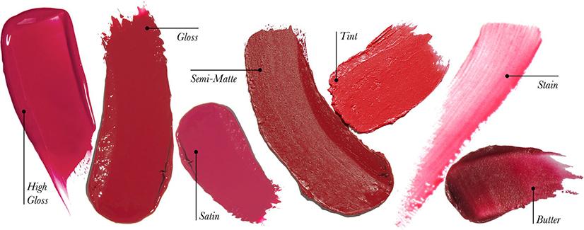 Konsistens i leppestifter og lipglosser
