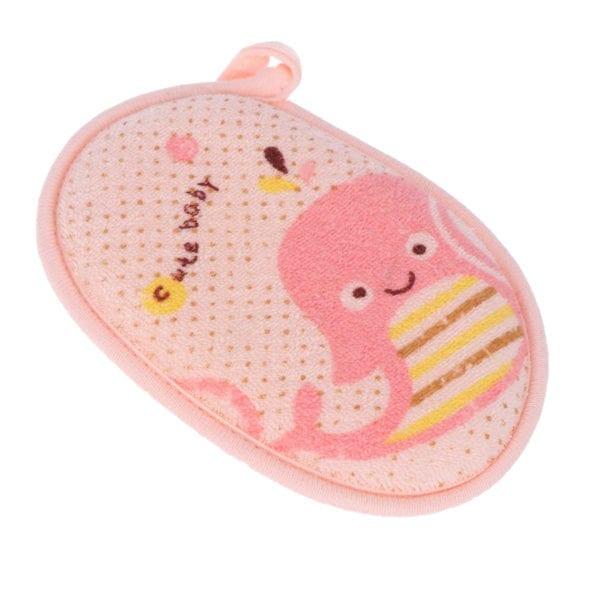 Rosa badesvamp for babyer