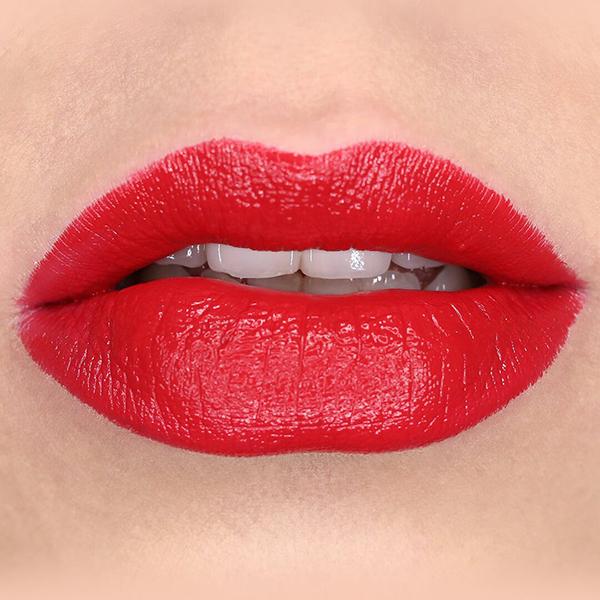 Satin lipstick poppy