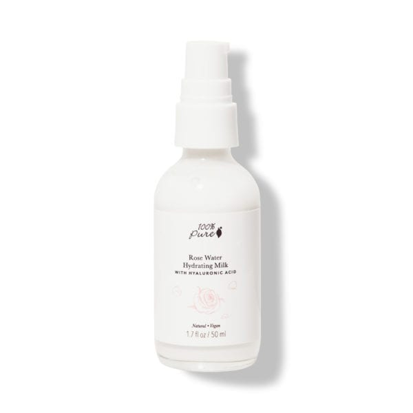 100% Pure Rose Water hydrating milk