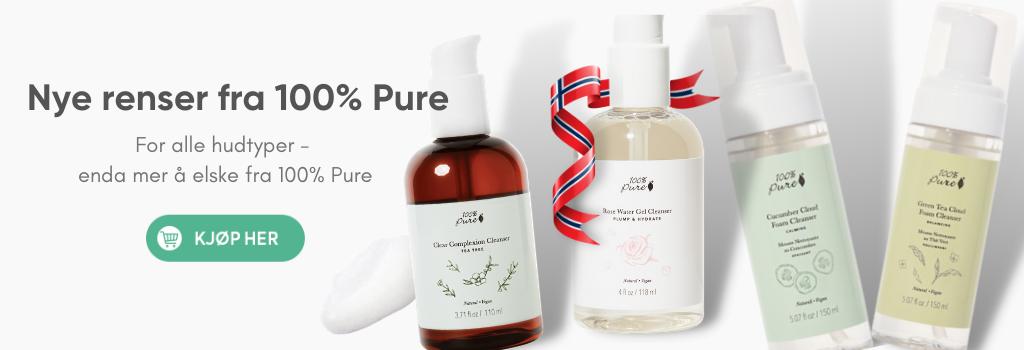 Nye renser fra 100% Pure
