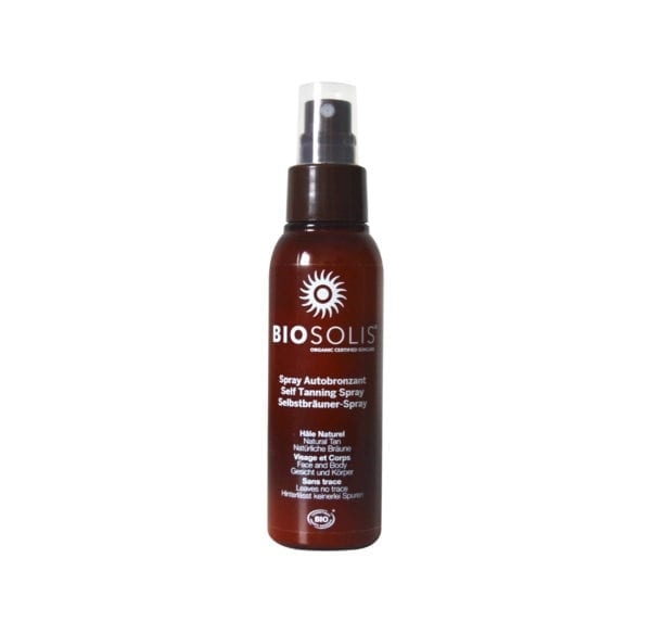 Biosolis suncare selftanning spray