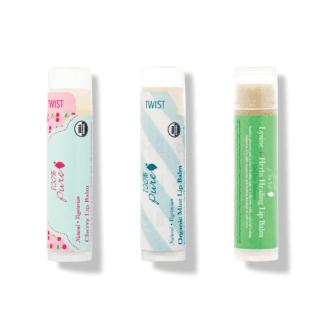 Sweet kisses lip balm leppeomade pakke fra 100% Pure