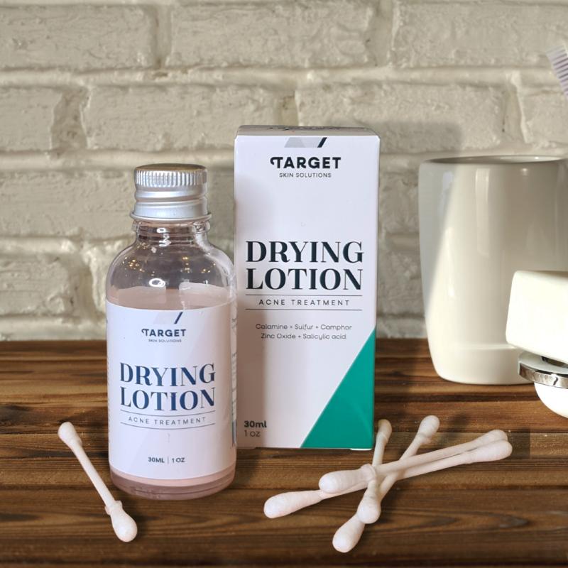 Drying Lotion fra Target Skin Solutions effektivt kvisemiddel