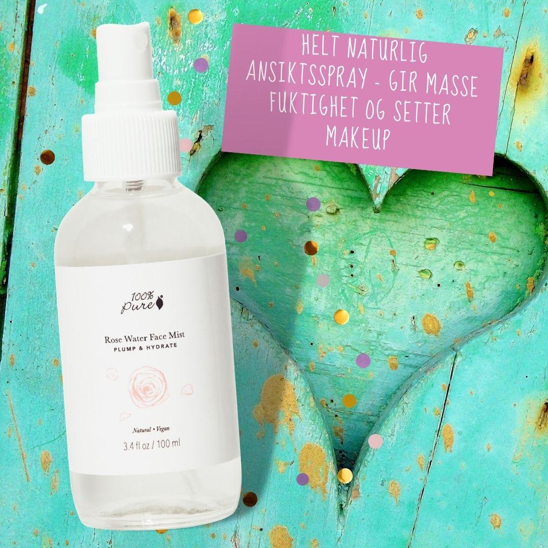 Naturlig ansiktsspray fra 100% Pure