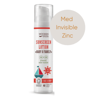 Wooden SPoon spf 50 invisible zinc